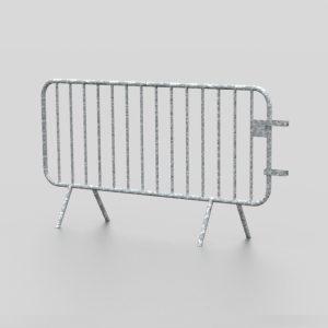 Barrière de police proposée par le groupe Ingénia expert du mobilier urbain