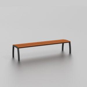 Banc BALI proposé par le groupe Ingénia expert du mobilier urbain