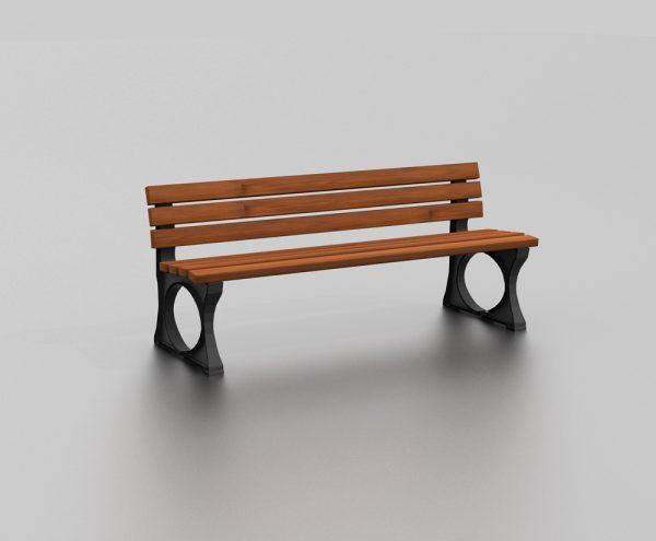 Banc BARBADES proposé par le groupe Ingénia expert mobilier urbain