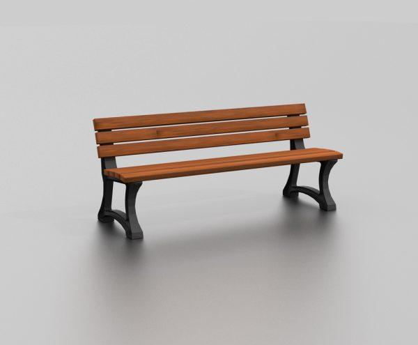 Banc MALDIVES proposé par le groupe Ingénia expert du mobilier urbain