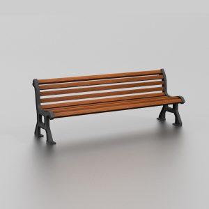 Banc AMOA proposé par le groupe Ingénia expert du mobilier urbain