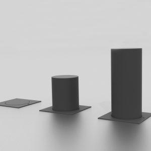 Borne rétractable proposée par le groupe Ingénia expert du mobilier urbain