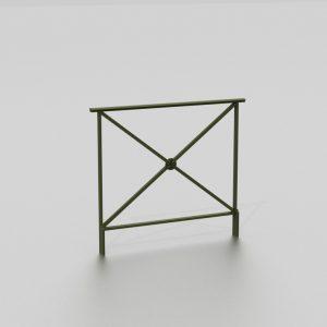 Barrière ANKARA ROSACE proposée par le groupe Ingénia expert du mobilier urbain