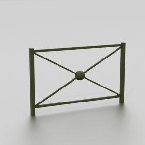 Barrière BELGRADE proposée par le groupe Ingénia expert du mobilier urbain