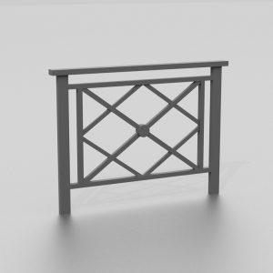 Barrière BEYROUTH proposée par le groupe Ingénia expert du mobilier urbain