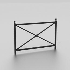 Barrière BOGOTA proposée par le groupe Ingénia expert du mobilier urbain