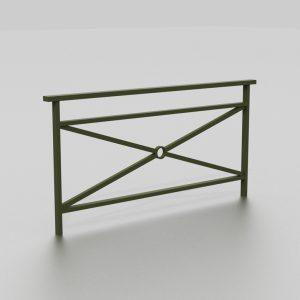 Barrière DAMAS proposée par le groupe Ingénia expert du mobilier urbain