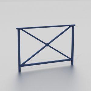 Barrière DUBLIN proposée par le groupe Ingénia expert du mobilier urbain