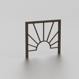 Barrière KUALA LUMPUR proposée par le groupe Ingénia expert du mobilier urbain