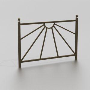 Barrière LUSAKA proposée par le groupe Ingénia expert du mobilier urbain