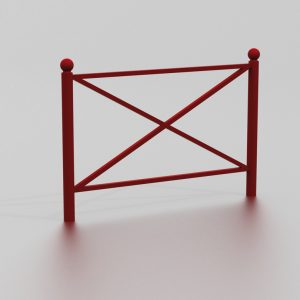 Barrière MONROVIA proposée par le groupe Ingénia expert du mobilier urbain