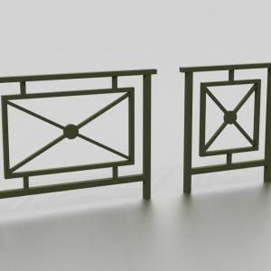 Barrière NASSAU proposée par le groupe Ingénia expert du mobilier urbain