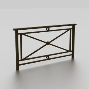 Barrière OSLO proposée par le groupe Ingénia expert du mobilier urbain