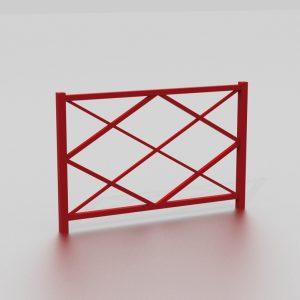 Barrière SOFIA Simple proposée par le groupe Ingénia expert du mobilier urbain