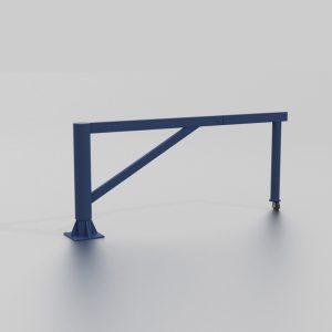 Barrière ouvrante grande longueur proposée par le groupe Ingénia expert du mobilier urbain