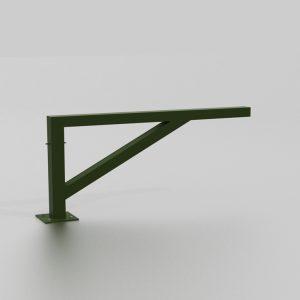 Barrière simple ouvrante proposée par le groupe Ingénia expert du mobilier urbain